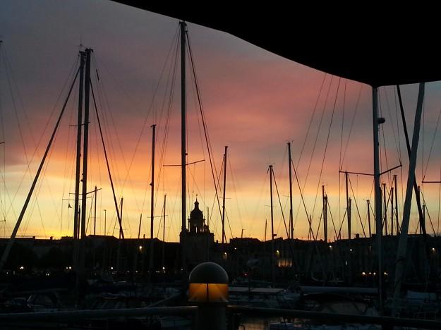 Fin de soirée, demain direction Bordeaux