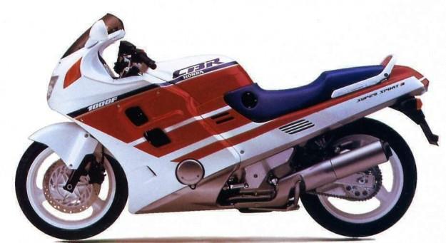 La CBR Honda 1 000