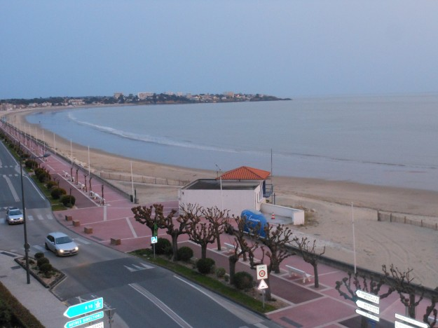 Le matin, vue de ma chambre d'Hôtel, c'est beau !